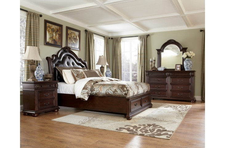 Caprivi Panel Storage Bedroom Set