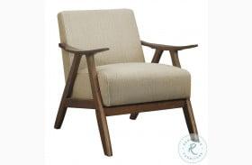 Damala Light Brown Accent Chair
