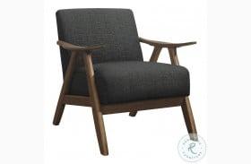 Damala Dark Gray Accent Chair
