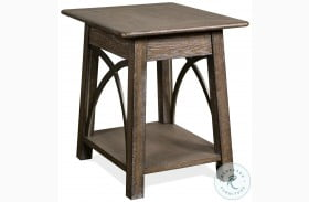 Helmsley Brushed Auburn End Table