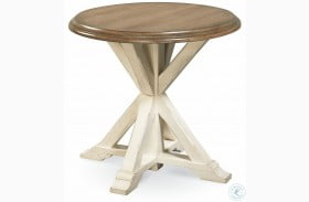 Curated Great Rooms Garden End Table