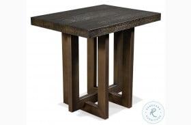 Magnus Umber Side Table