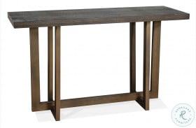 Magnus Umber Console Table