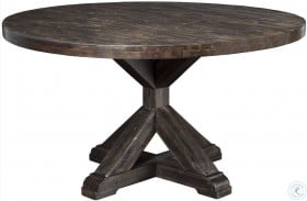 Newberry Grey Round Dining Table