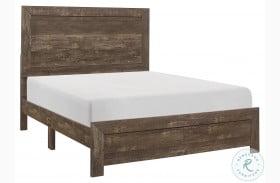 Corbin Rustic Brown Bed in a Box