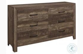 Corbin Rustic Brown Dresser