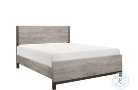 Zephyr Brown Panel Bed