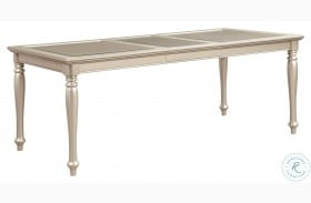 Celandine Silver Extendable Dining Table