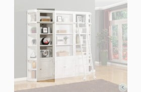 """Rawlins White 22"""" Open Top Bookcase"""
