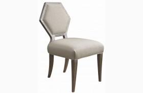 Geode Warm Kona Druzy Dining Chair Set of 2