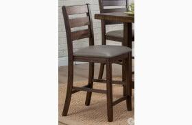 Emery Walnut Pub Height Chair