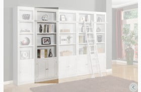 """Rawlins White 32"""" Open Top Bookcase"""