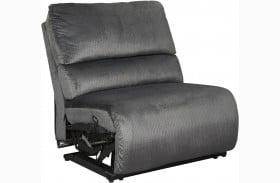 Clonmel Charcoal Armless Chair