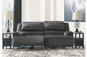 Clonmel Charcoal Reclining Sofa