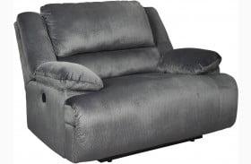 Clonmel Charcoal Zero Wall Wide Seat Recliner