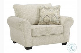 Haisley Ivory Chair And A Half