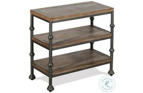 Revival Spanish Grey Chairside Table