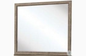 Vogue Gray Wash Landscape Mirror