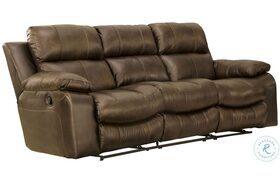 Positano Cocoa Reclining Sofa