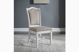 Abbey Park Antique White Dining Chair Set of 2
