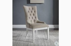 Abbey Park Antique White Hostess Chair Set of 2