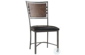 Fideo Black Side Chair Set of 2