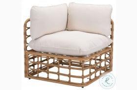 Kapalua Natural Outdoor Corner Chair