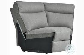 Maroni Gray Corner Seat