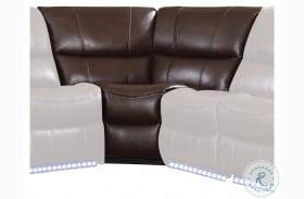 Pecos Dark Brown Corner Seat
