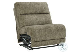 Lubec Taupe Armless Recliner