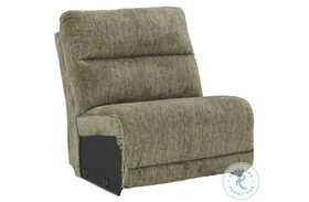 Lubec Taupe Armless Chair