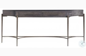 Curated Oslo Onyx Console Table