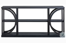 Curated Paradigm Coal Console Table