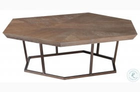 Curated Divergence Charcoal Cocktail Table