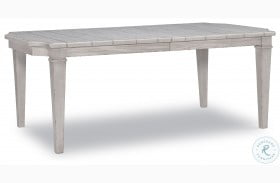 Belhaven Weathered Plank Extendable Rectangle Leg Dining Table