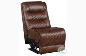 Putnam Brown Power Armless Reclining Chair