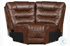 Putnam Brown Corner Seat