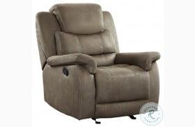 Shola Brown Glider Reclining Chair