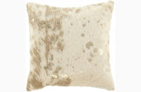Landers Cream And Gold Pillow Set of 4