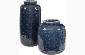 Marenda Navy Blue Vase Set of 2