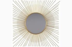 Elspeth Gold Accent Mirror