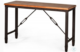 Ashford Antiqued Honey Sofa Table