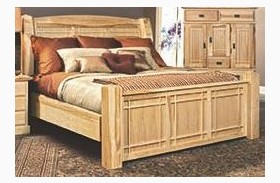 Amish Highlands Natural Arch Panel Bed
