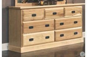 Amish Highlands Natural Dresser