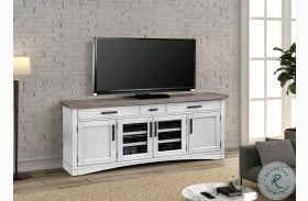 "Americana Modern Cotton 76"" TV Console"