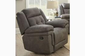 Anastasia Grey Glider Recliner Chair