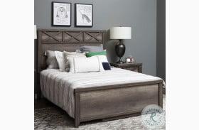 Xavier Gray Twin Panel Bed