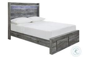 Baystorm Gray Full Platform Bed