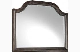 Adinton Reddish Brown Mirror