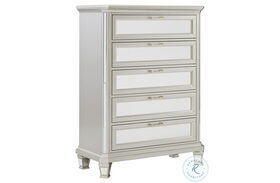 Lindenfield Silver 5 Drawer Chest